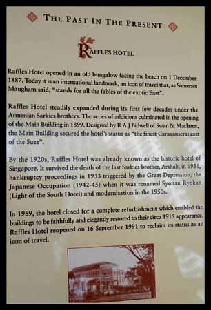 Raflles Hotel 2
