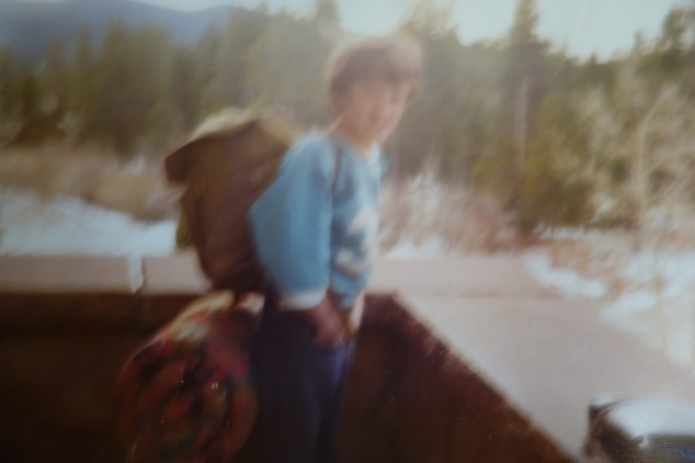 The only picture I have of Jamie Taylor- at 6th Eco Week (1975 or 6). Camp St. Malo, Allenspark, CO.